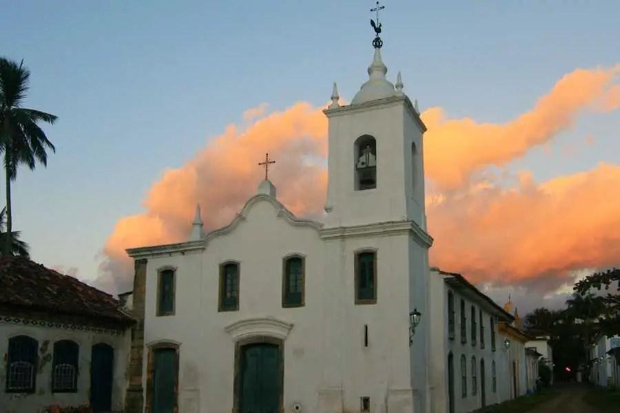 Paraty Brazil Church