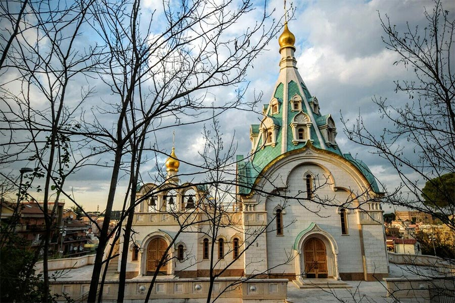 Places To Visit In Rome - Saint Catherine Russian Orthodox Church