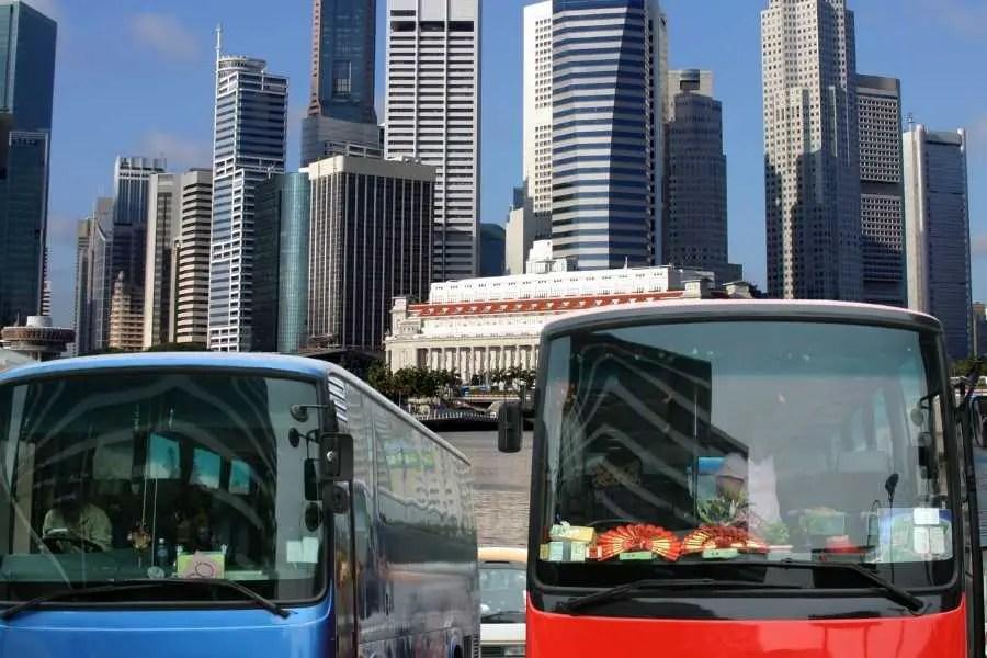 Singapore bus terminal