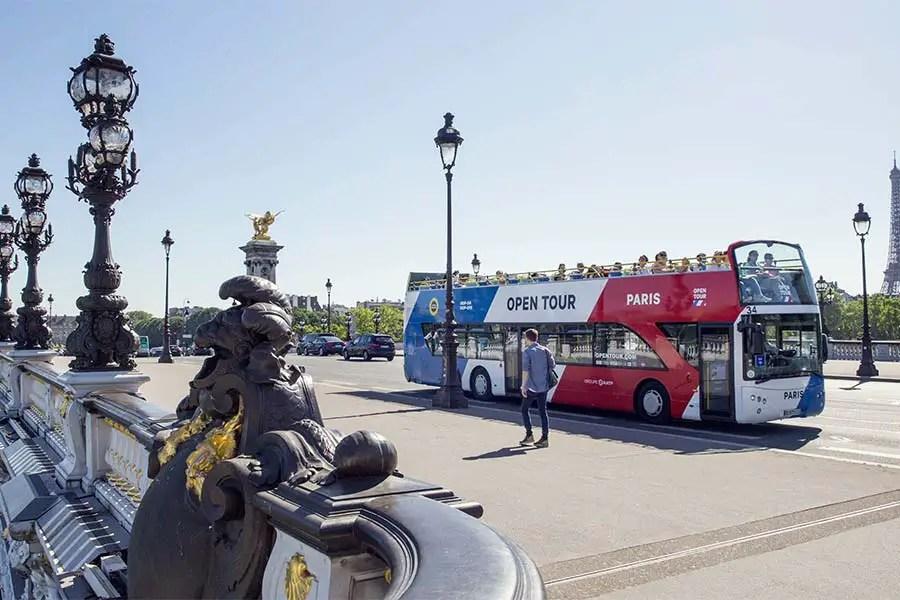 Opentour Bus Paris