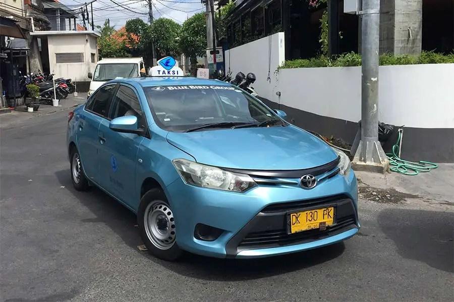 Bluebird Taxi Bali
