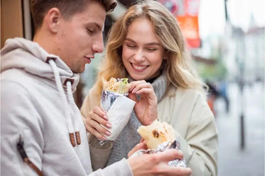 Save money travelling through Europe - Cheap street food
