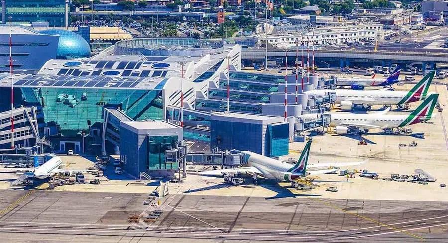 Cheapskate Guide To Rome - fiumicino airport