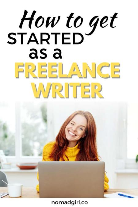 How to get started as a freelance writer