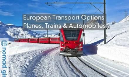 European Transport Options – Planes, Trains & Automobiles
