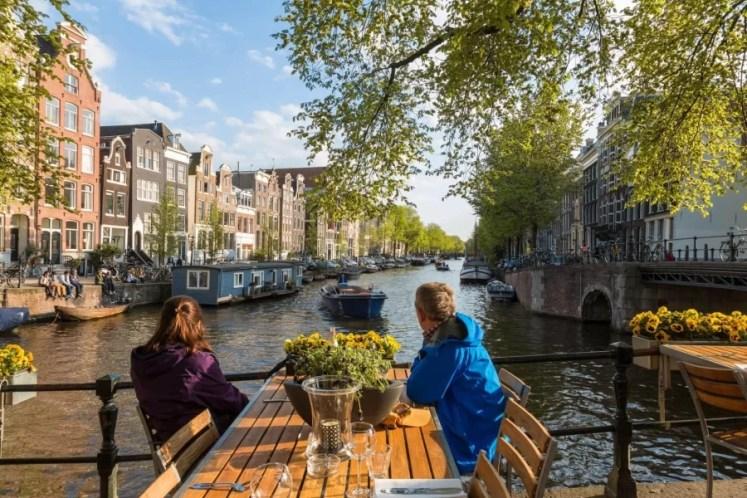 ghid de calatorie in Amsterdam - restaurante