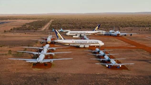 avioane la sol 2020 turism