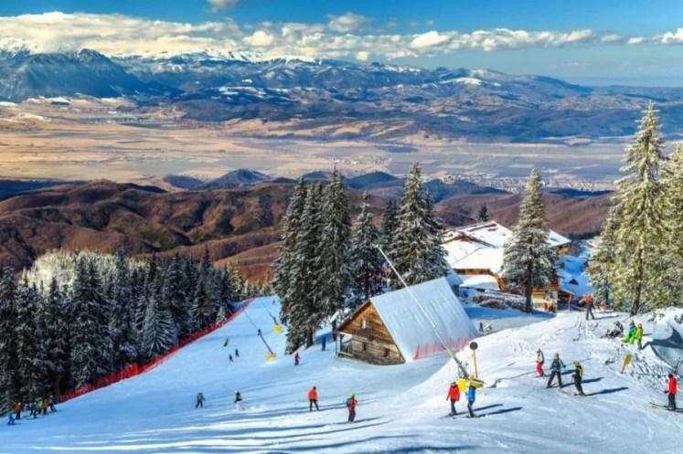 partie de ski poiana Brasov