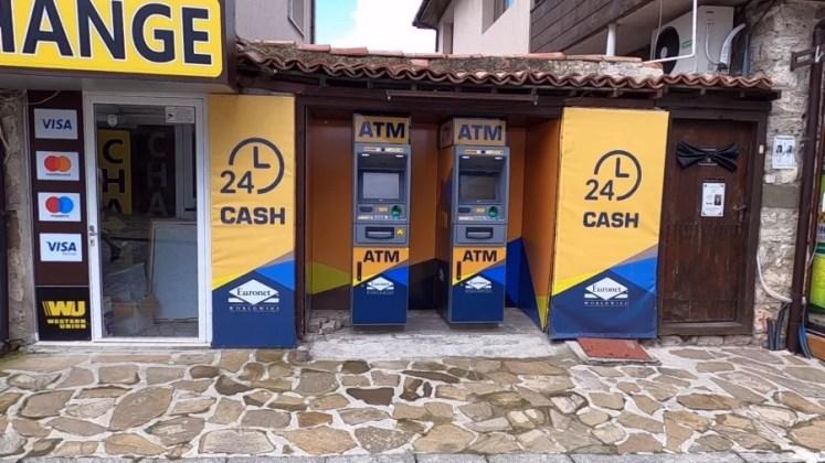 bancomate comisioane mari in Bulgaria nessebar old town