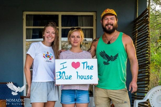 144, Day 249, Blue House, Kasane, Botswana