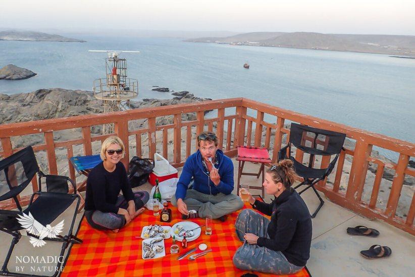 156, Days 267-268, Lighthouse on Shark Island, Luderitz, Namibia