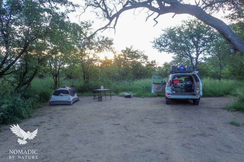 186, Days 335-338, Tsendze Rustic Campsite, Kruger National Park, South Africa