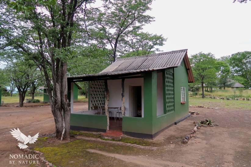 197, Day 377, Robin's Camp Bar, Hwange National Park, Zimbabwe