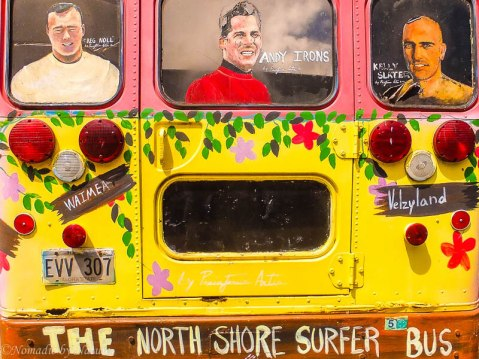 The North Shore Surfer Bus
