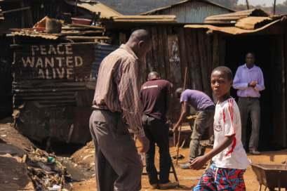 Peace Wanted Alive in Kibera