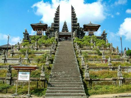The Temple at Pura Besakih