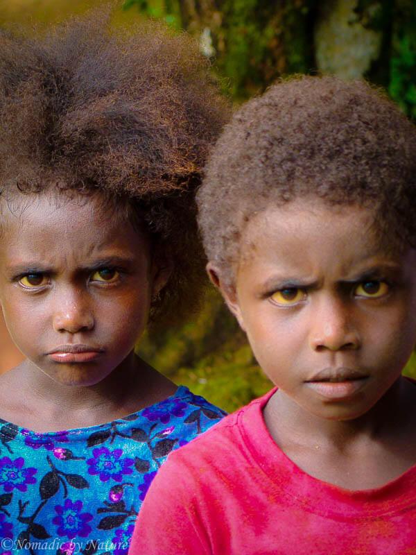 Protrait of Children from Choiseul Province