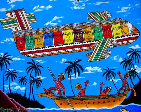 Local Art in Port Moresby