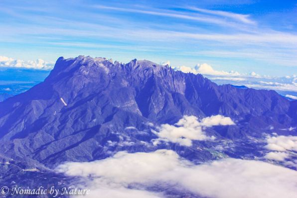 Mount Kinabalu Ariel