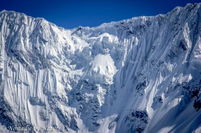 Sheer Ice Face of Nanga Parbat