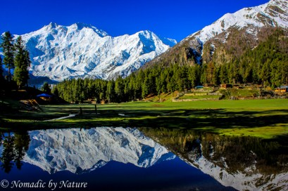 Mirror Pond in Fairy Meadows