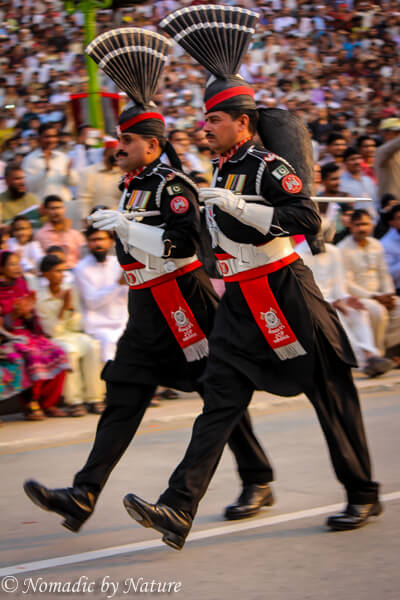 Choreographed Contempt, Wagah Border
