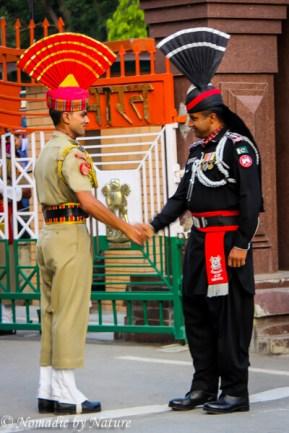A Brief Handshake at the Wagah Border