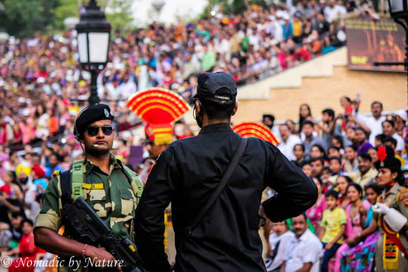 Wagah Border Special Forces