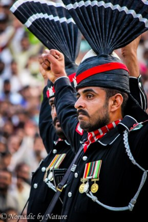 Wagah Border Show of Strength