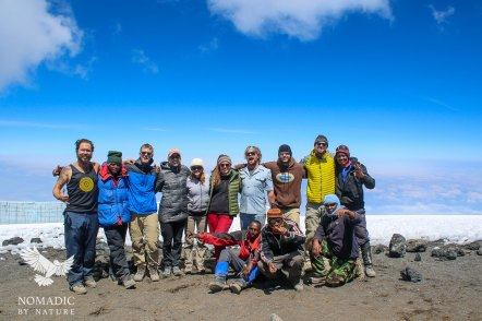 28 Uhuru Peak, Mount Kilimanjaro, Tanzania