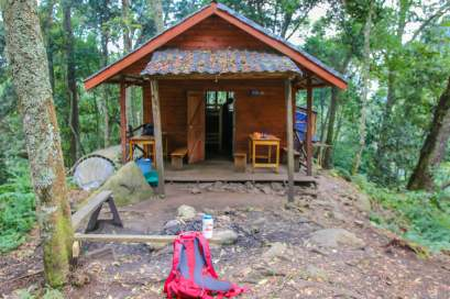 5 Day 8 Sine Hut, Rwenzori Mountains National Park, Uganda