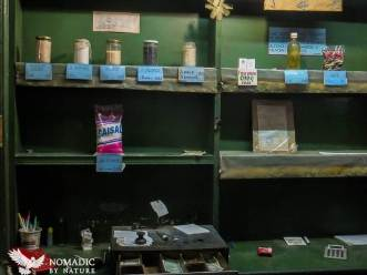 Empty Government Rations Store in Havana