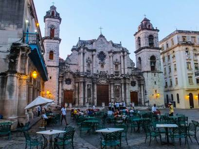 An Ancient Church in Old Havana