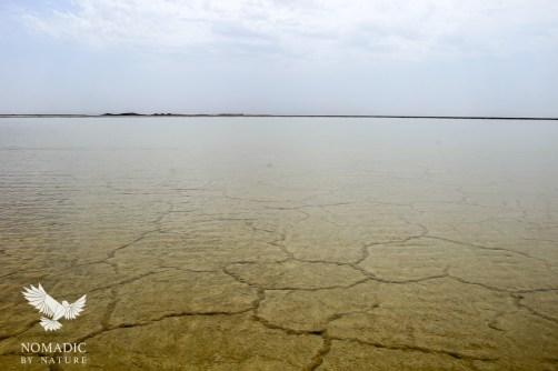 A Layer of Rain over the Salt Flats, Danakil Depression, Ethiopia