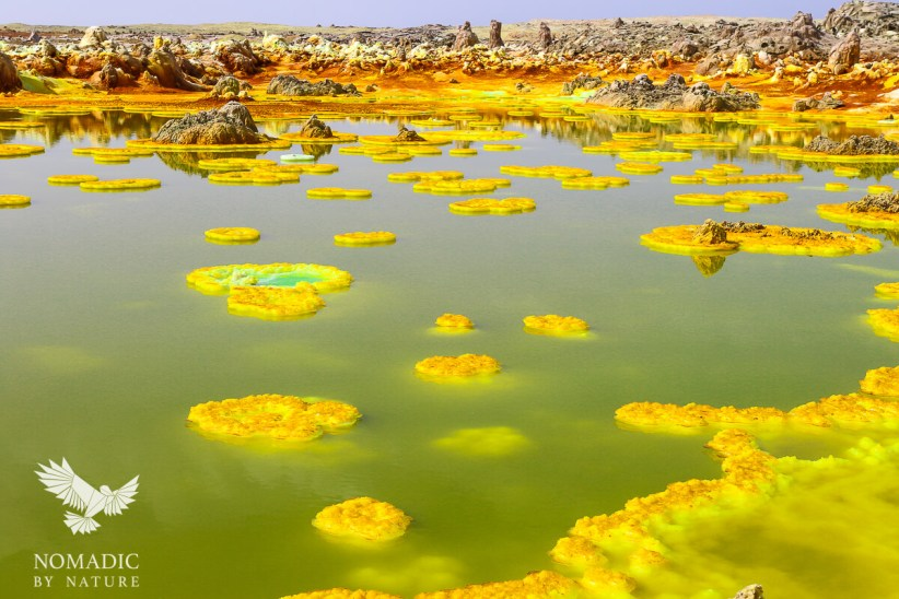 The Candy Colored Hot Springs of Dallol, Ethiopia