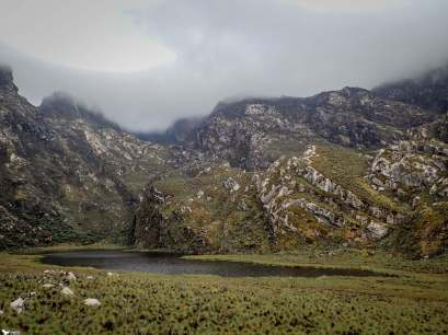 Lake Kopel, Rwenzori Mountains National Park