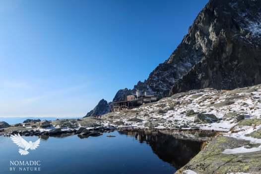 The View from Teryho chata mountain hut, High Tatras, Slovakia