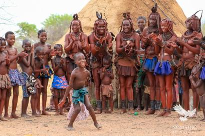 All Smiles during the Himba Ondjongo Dance, Namibia