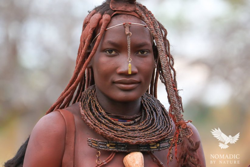 A Portrait of Himba Beauty