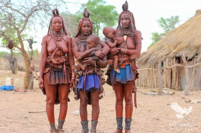 Three Himba Mothers, Namibia