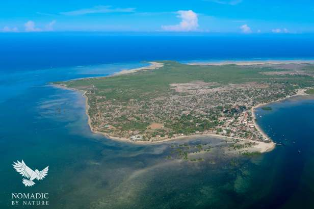 Ibo Island from the Sky, Quirimbas National Park, Mozambique