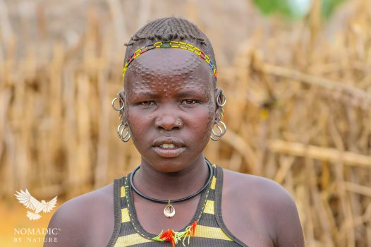 A Young Karamojong Mother, Karamoja, Uganda