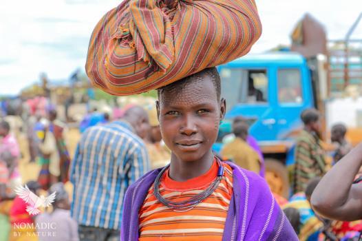 Market Day in Karamoja, Uganda