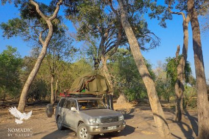 Khwai Campsite, Moremi Game Reserve, Botswana