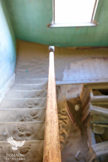 Rickety Staircase, Kolmanskop Ghost Town, Namibia