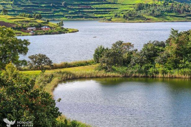 Quiet Cove, Lake Bunyonyi, Uganda