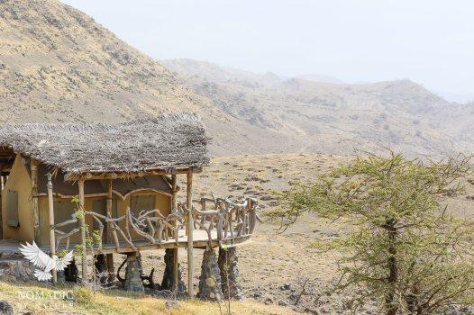 Lodging at World View Campsite, Lake Natron, Tanzania