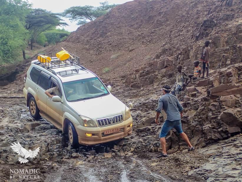 The River that was Supposed to be a Road, Lapurr Range, Lake Turkana, Kenya