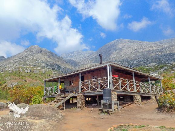 Chisepo Hut, Trekking Mount Mulanje, Malawi
