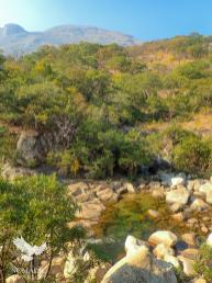 Secret Swimming Hole, Trekking Mount Mulanje, Malawi